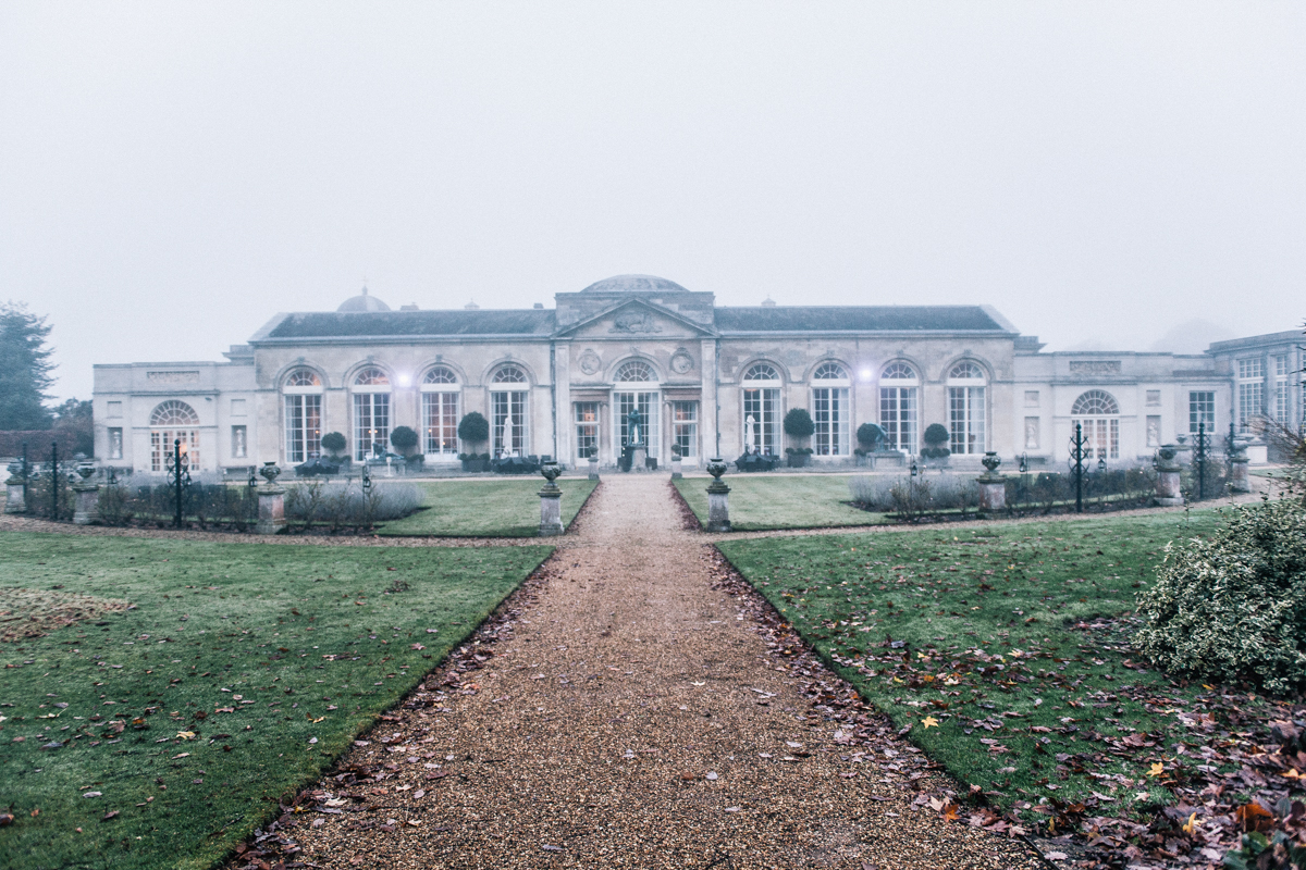 outside woburn abbey sculpture gallery